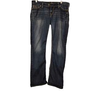 Silver Tuesday 16 1/2 Embellished Jeans
